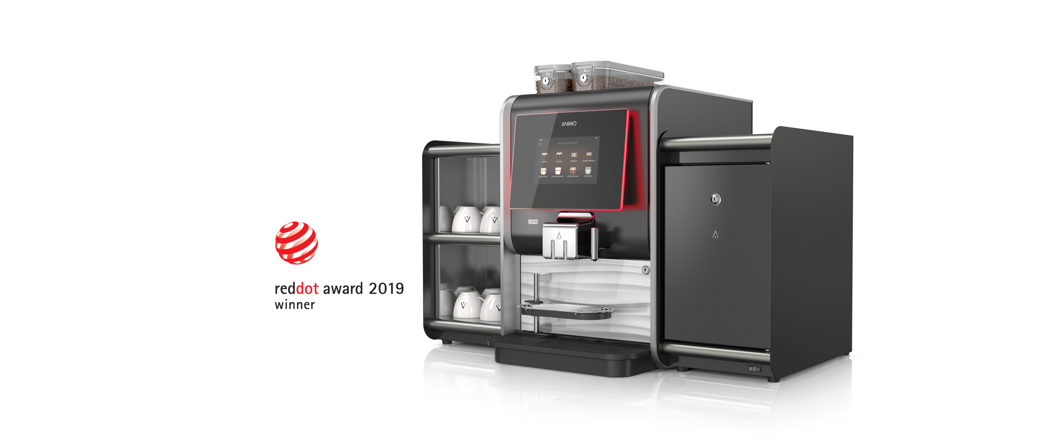 Animo wint met de OptiMe Red Dot Award 2019
