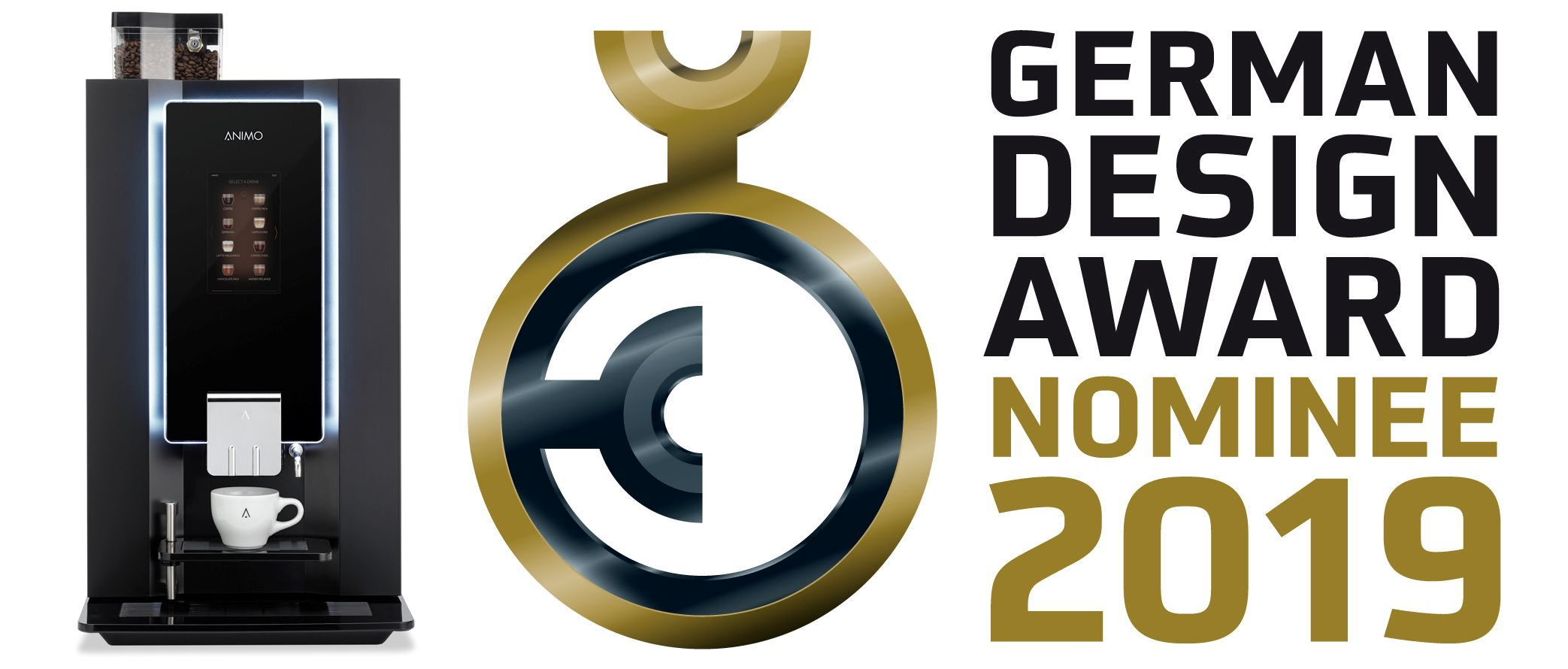 OptiBean Touch nominated German Design Award