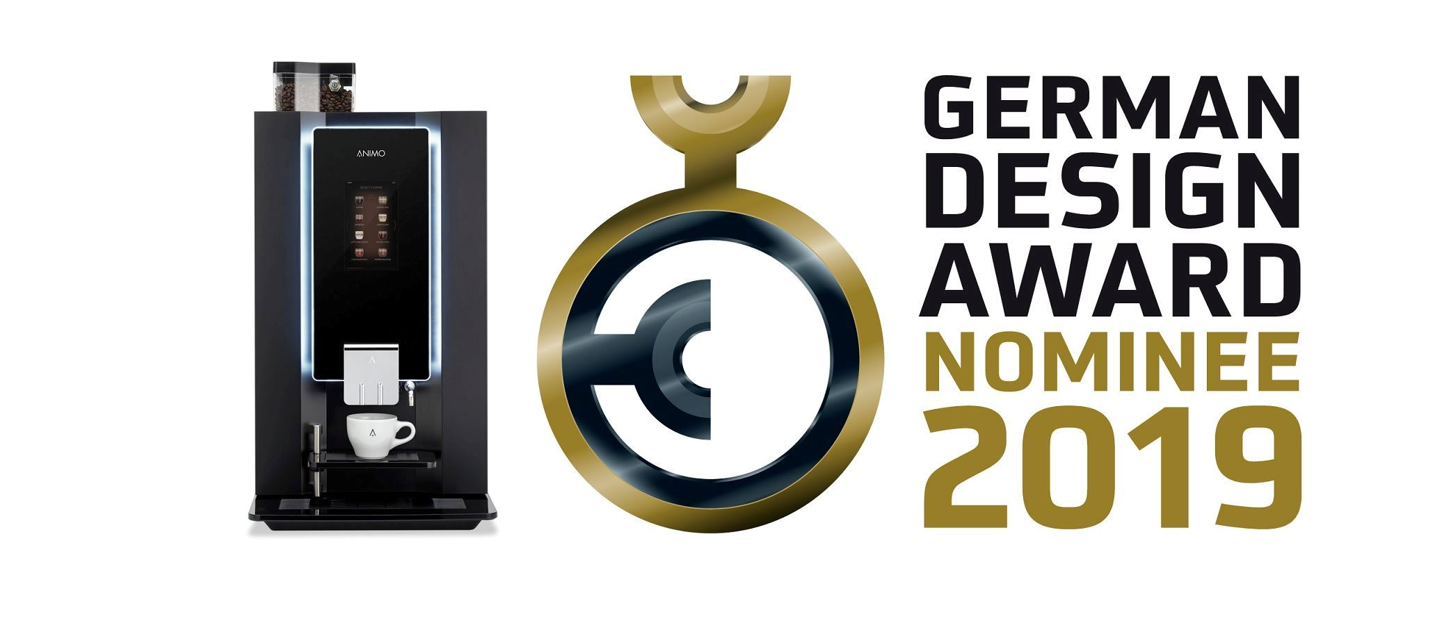 OptiBean Touch genomineerd voor German Design Award