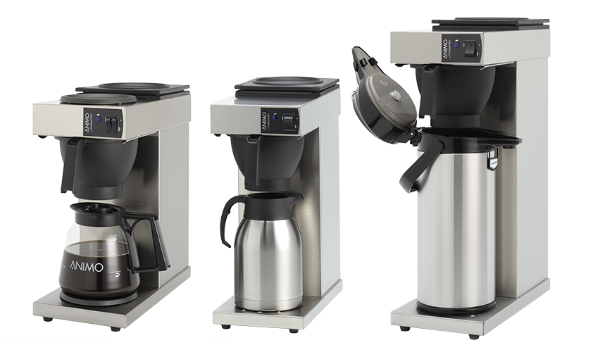 Animo Coffee Makers For Fresh Filter Coffee