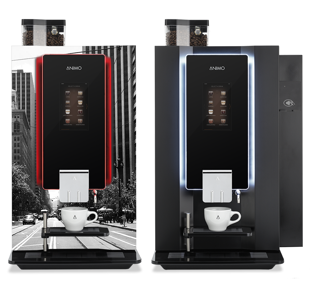 Bean to Cup Coffee Machine | Animo OptiBean