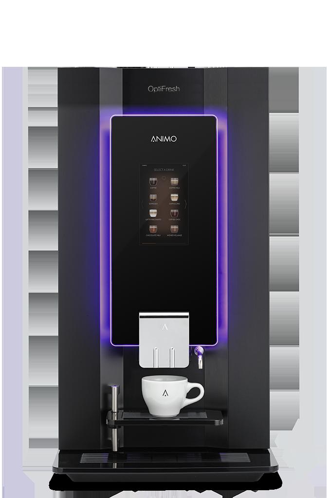 kaffeevollautomat f r b ro und unternehmen animo. Black Bedroom Furniture Sets. Home Design Ideas